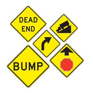 Street Signs, Warning Signs, Stop Signs, Construction ...